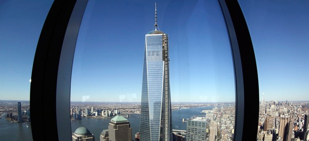 A view of One World Trade Center.