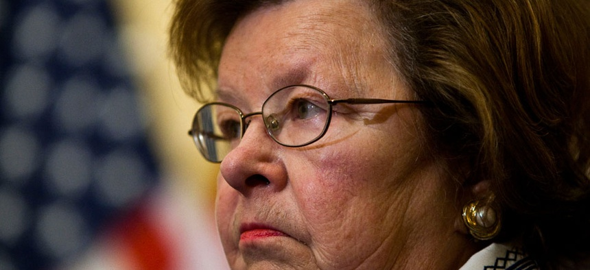 Sen. Barbara Mikulski, D-Md., leads the chamber's Appropriations Committee.