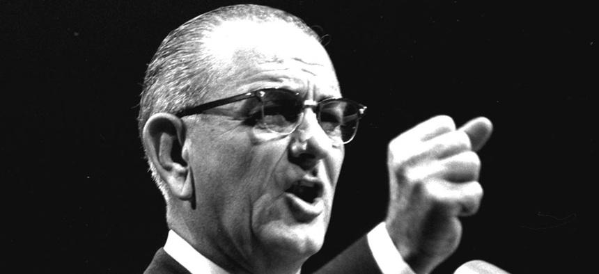 President Lyndon Johnson declared war on poverty nearly 50 years ago.
