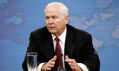 Former Secretary of Defense Robert Gates