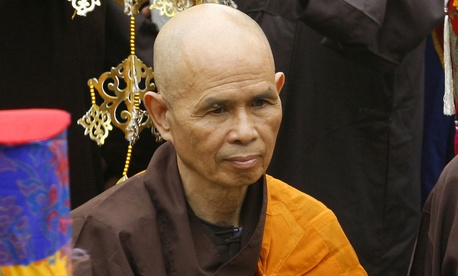 "A well known Thich Nhat Hanh quote is ""If you touch one thing with deep awareness, you touch everything."""