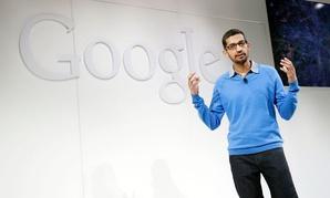 Sundar Pichai, senior vice president Chrome and apps for Google