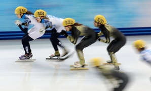Like in Olympic speedskating, performance distribution doesn't necessarily resemble a bell curve.