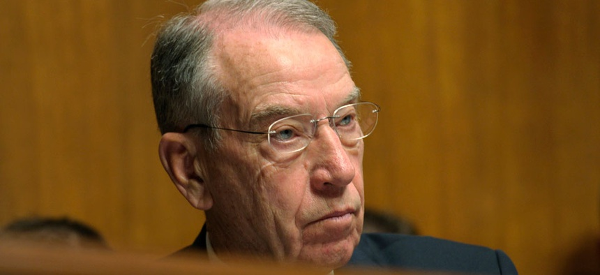 """It's pretty simple,"" said Republican Sen. Chuck Grassley of Iowa. ""We don't understand why the Senate shouldn't function as it historically has functioned."""