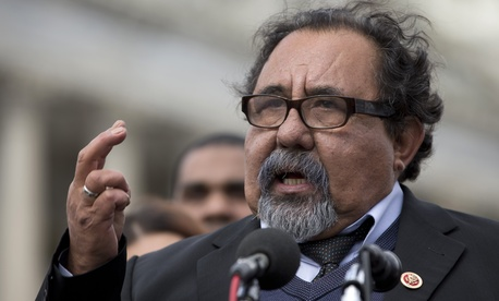 """The explanation that the tea party was the reason, that's the wrong narrative,"" said a frustrated Rep. Raul Grijalva, the co-chairman of House Progressive Caucus and an Arizona Democrat."