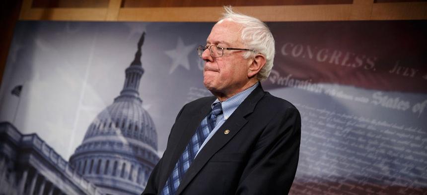 """It's very easy to beat up on the VA,"" said Senate Veterans Affairs Committee Chairman Bernie Sanders."
