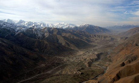 Kajakan Valley in the Shinwari District of Afghanistan.