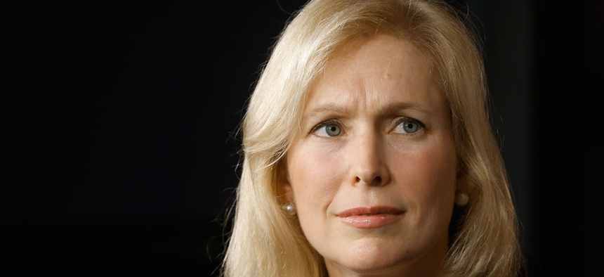 """""""We will work harder than ever in the coming year to strengthen our military by taking sexual assaults and other major crimes out of the chain of command,"""" Sen. Kirsten Gillibrand wrote."""