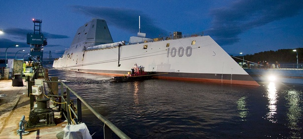 The Navy's USS Zumwalt, which launched in October 2013, will not be fully operational until 2016.