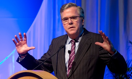 Jeb Bush is a contender for the 2016 GOP nomination.