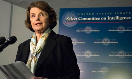 Senate Intelligence Committee Chair Sen. Dianne Feinstein, D-Calif.