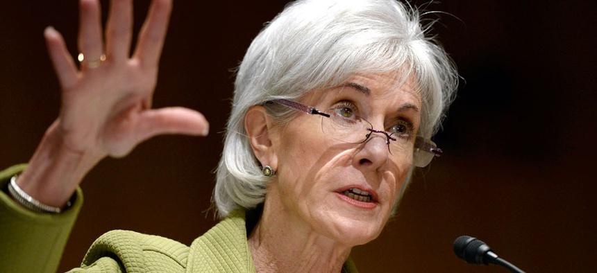 Former Health and Human Services Secretary Kathleen Sebelius