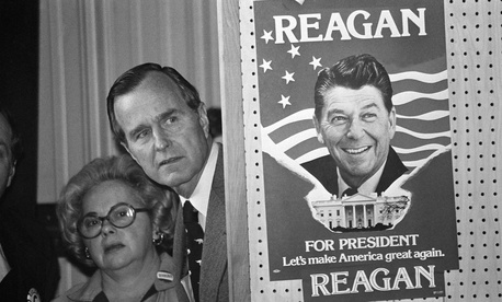 Ronald Reagan and George H.W. Bush's 1980 primary contest should be studied in regards to 2016.