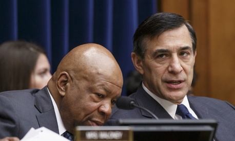 House Oversight Committee Chairman Darrell Issa, R-Calif., and Rep. Elijah Cummings, D-Md.