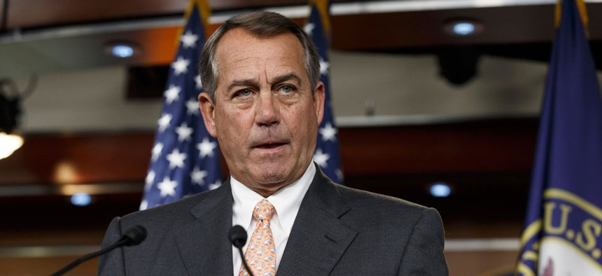 Speaker of the House John Boehner is asked about the special select committee he has formed to investigate the deadly 2012 attack on the U.S. diplomatic post in Benghazi, Libya.