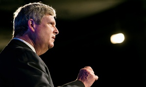 "Providing assistance to farmers whose lands were destroyed by floods or tornadoes is ""what government service is all about,"" Agriculture Secretary Tom Vilsack said."