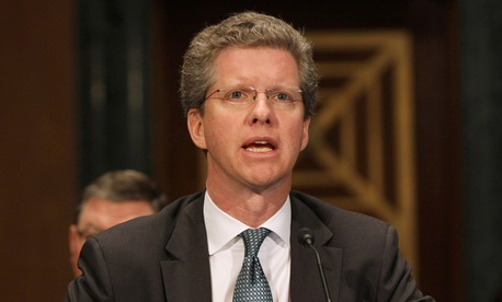 Shaun Donovan testifies on Capitol Hill in March.