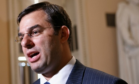 Rep. Justin Amash, R-Mich., filed an amendment Monday that would take a key section of the USA Freedom Act.