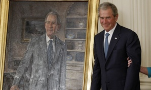 George W. Bush's official portrait was unveiled in March 2012.