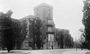 An old picture of St. Elizabeths Hospital, which was supposed to be converted into the headquarters of the Department of Homeland Security.
