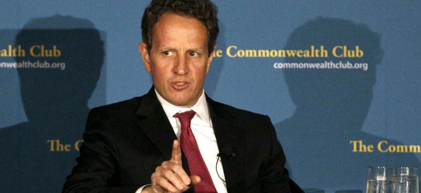 Former Treasury Secretary Tim Geithner