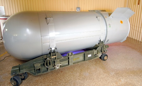 The United States' last B53 nuclear bomb was dismantled in 2011.