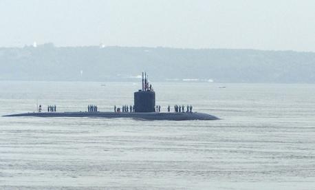 The USS Santa Fe submarine