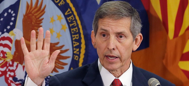 Acting Veterans Affairs Secretary Sloan Gibson announced the hiring freeze recently.