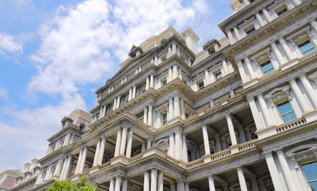Washington's Eisenhower Executive Office Building houses many federal executives.