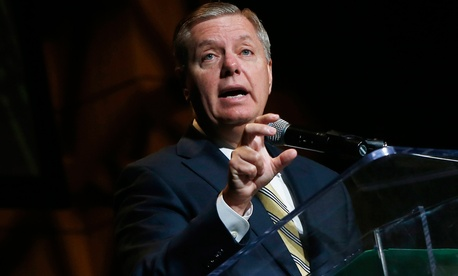 "Sen. Lindsey Graham said that the administration is ""absolutely"" doing a better job protecting Americans there than they did in Libya just two years ago."