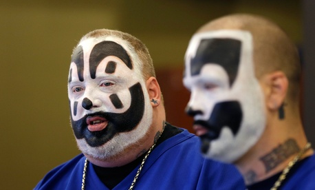 From left, Violent J and Shaggy 2 Dope filed the lawsuit in January.