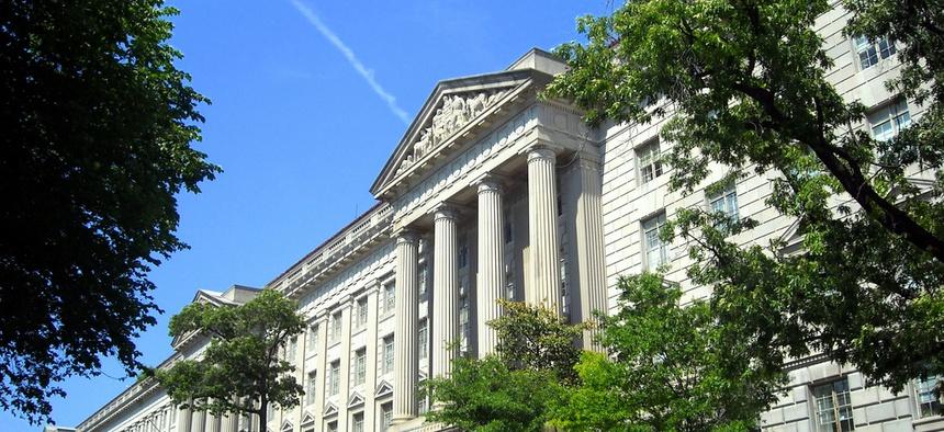 The Commerce Department is housed in DC's Herbert C. Hoover Building.