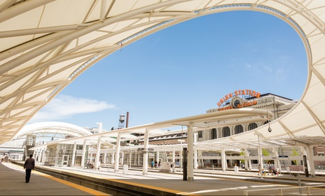 Denver's Union Station  is the centerpiece of the city's FasTracks expansion program.