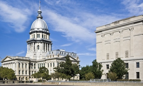 Springfield is both the county seat for Sangamon County and the capitol of Illinois.
