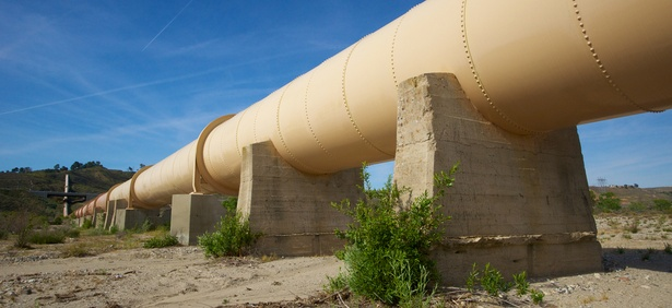 The Los Angeles Aqueduct in California