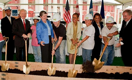 The DHS Groundbreaking Ceremony at St. Elizabeths Campus, September 9, 2009
