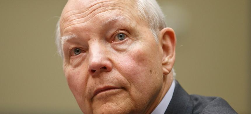 Internal Revenue Service Commissioner John Koskinen testified on Capitol Hill on June 23.