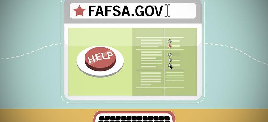 An illustration of FAFSA.gov