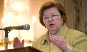 Sen. Barbara Mikulski, D-Md., chairwoman of the Appropriations Committee.