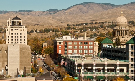 Boise, Idaho, doesn't control its streets.