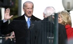 The Vice President was sworn in wearing actual clothes in 2009.