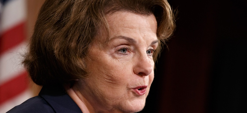 """""""Until these redactions are addressed to the committee's satisfaction, the report will not be made public,"""" Sen. Dianne Feinstein, D-Calif., said in a statement."""