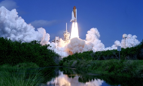 Atlantis launched from Florida's Cape Canaveral in 2006.