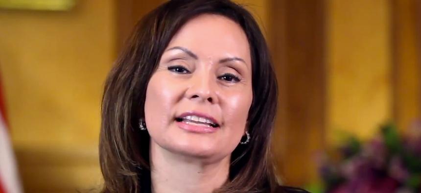 Rosa Gumataotao Rios is the current United States Treasurer.