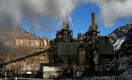A coal-fired power plant near Price, Utah.