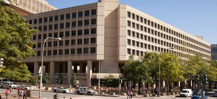 The J. Edgar Hoover FBI Building in Washington.
