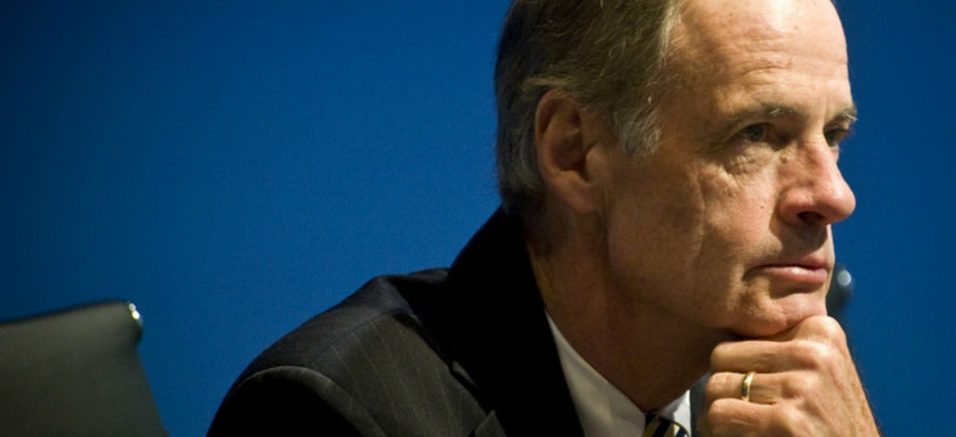 "Sen. Tom Carper, D-Del., urged comprehensive reform ""before it's too late."""