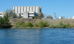 Reactor at the Hanford Nuclear Reservation.