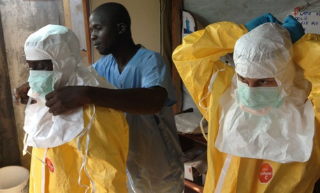 The deadly virus broke out in Guinea this spring.
