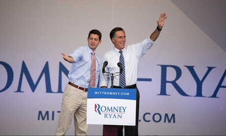 Romney and Ryan ran together in 2012.